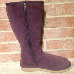 UGG Australia Shoes - UGG AUSTRALIA Women's Purple Sunset Boots Size 9